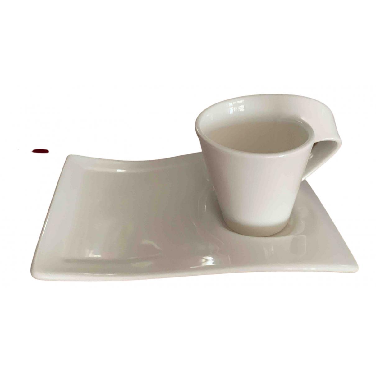 - Arts de la table   pour lifestyle en ceramique - blanc