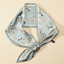 Twilly Schal mit Gaensebluemchen Muster