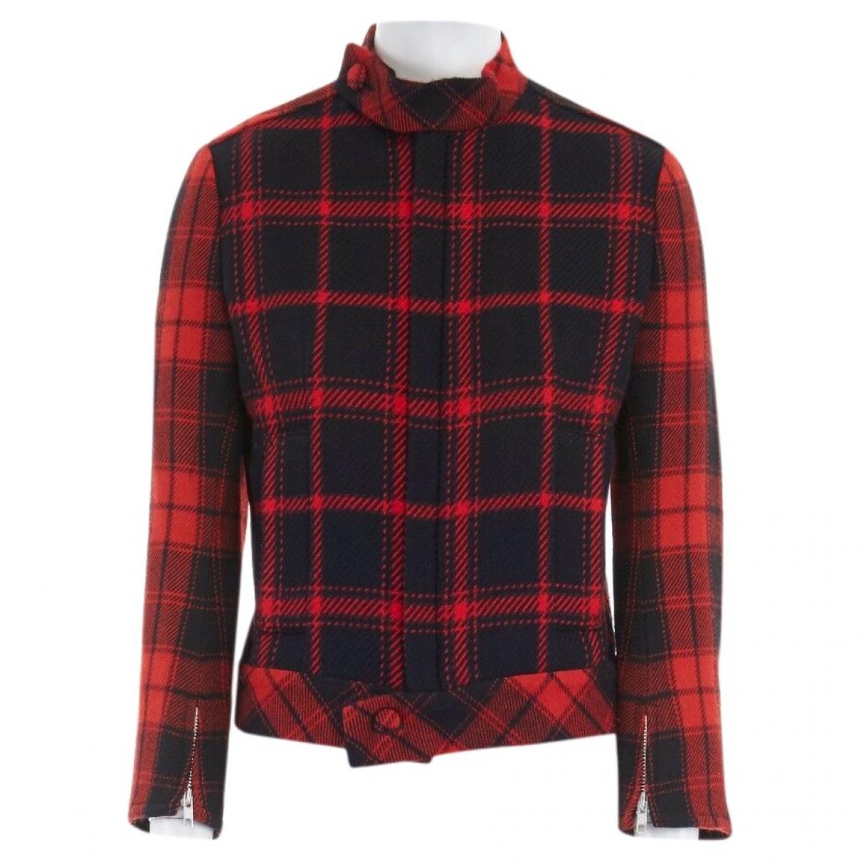 Yohji Yamamoto - Veste   pour femme en laine - rouge