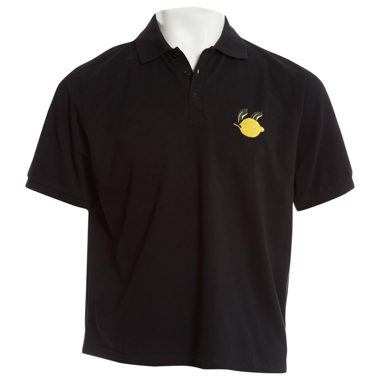J.w. Anderson \N Black Cotton Polo shirts for Men XL International
