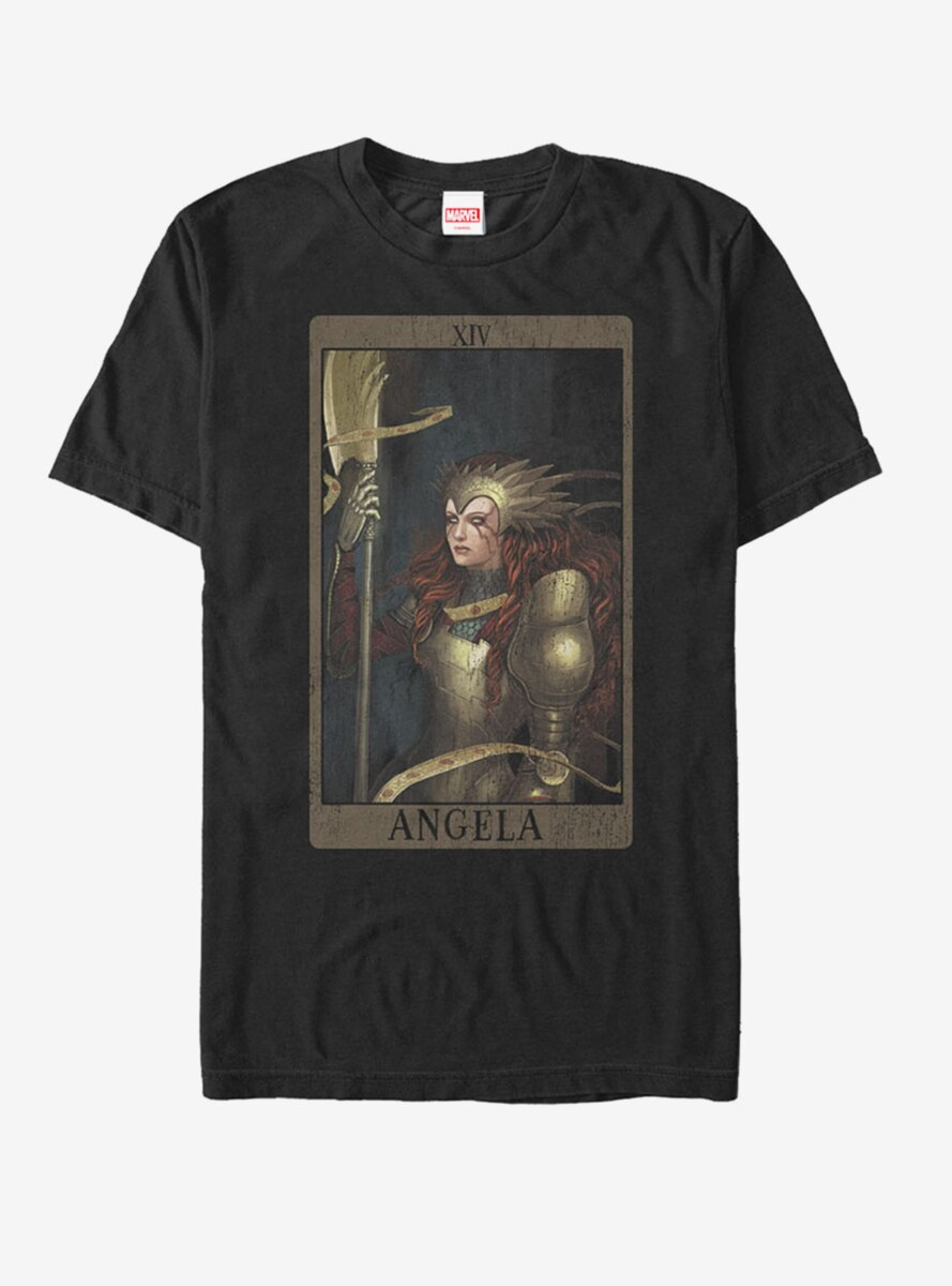 Marvel Angela Card T-Shirt