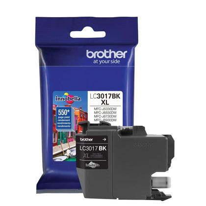 Brother LC3017BK Original Black Ink Cartridge High Yield