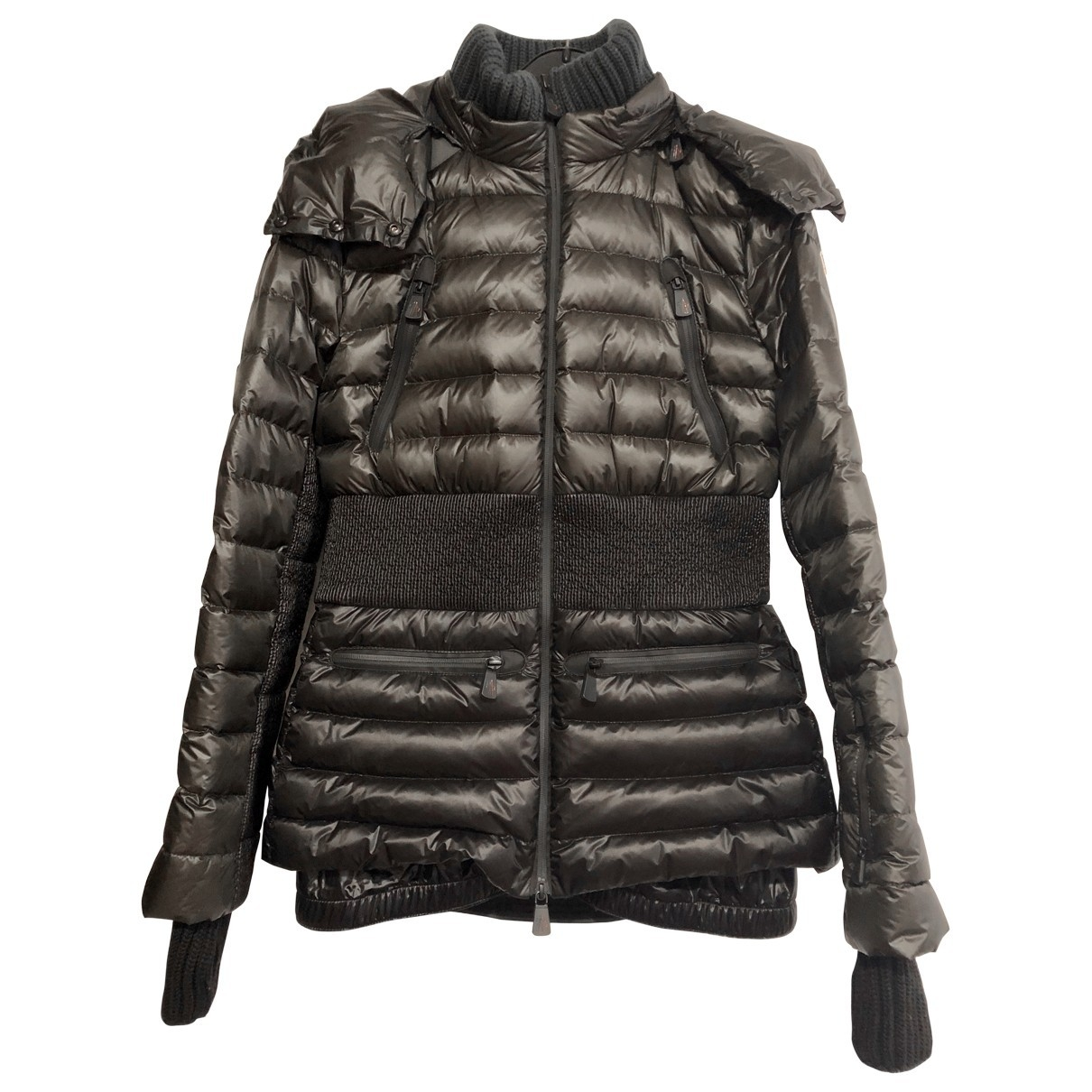 Moncler Grenoble Maentel in  Gruen Synthetik
