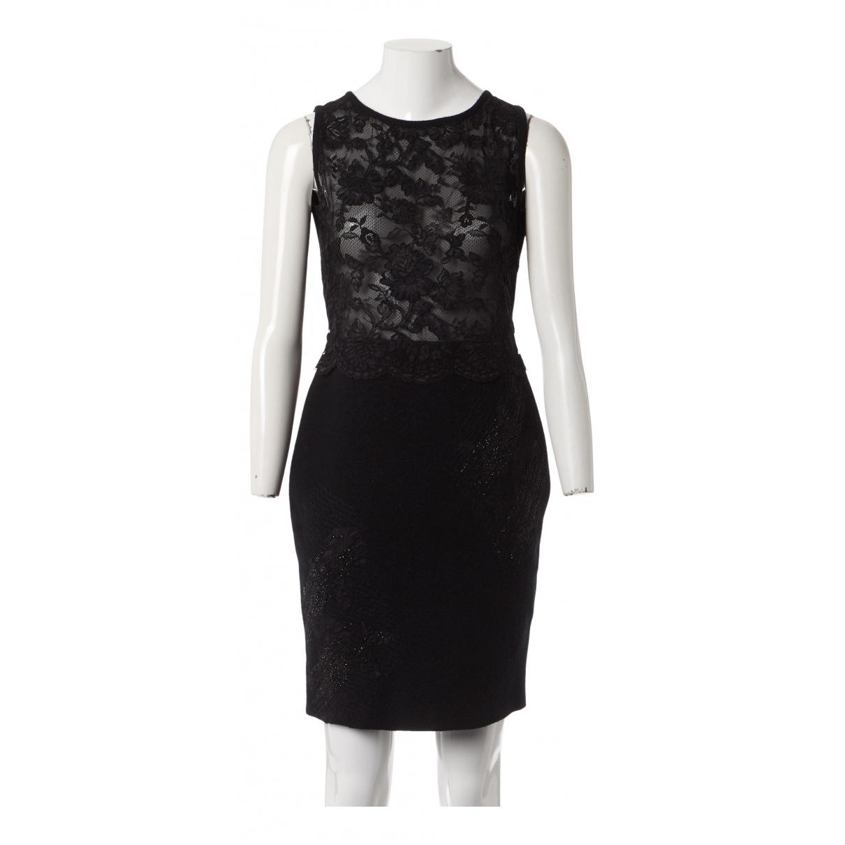 Valentino Garavani N Black Wool dress for Women M International