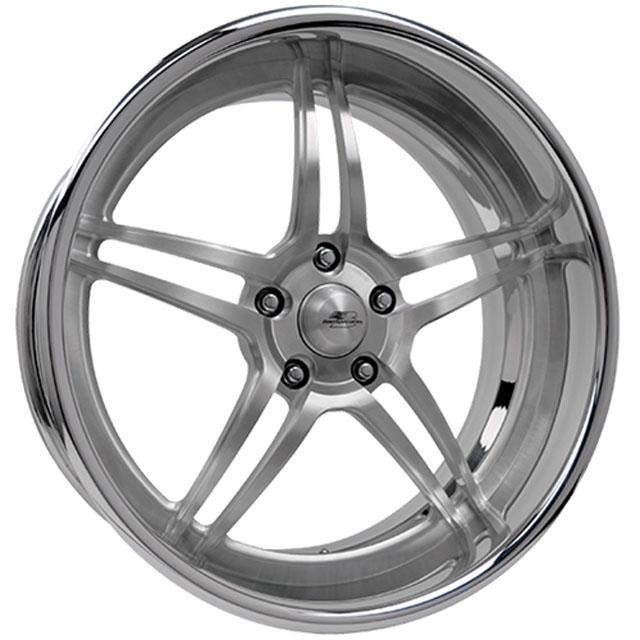 Billet Specialties MR10812Custom Daytona Concave Deep Wheel 18x12