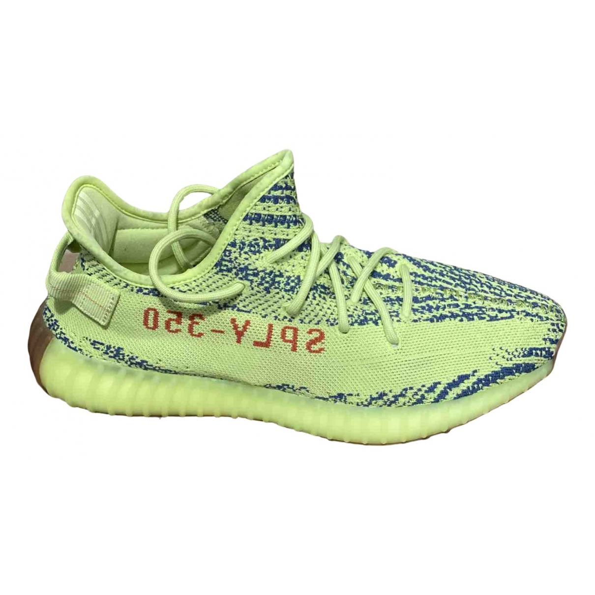 Yeezy X Adidas Boost 350 V2 Yellow Cloth Trainers for Men 44.5 EU