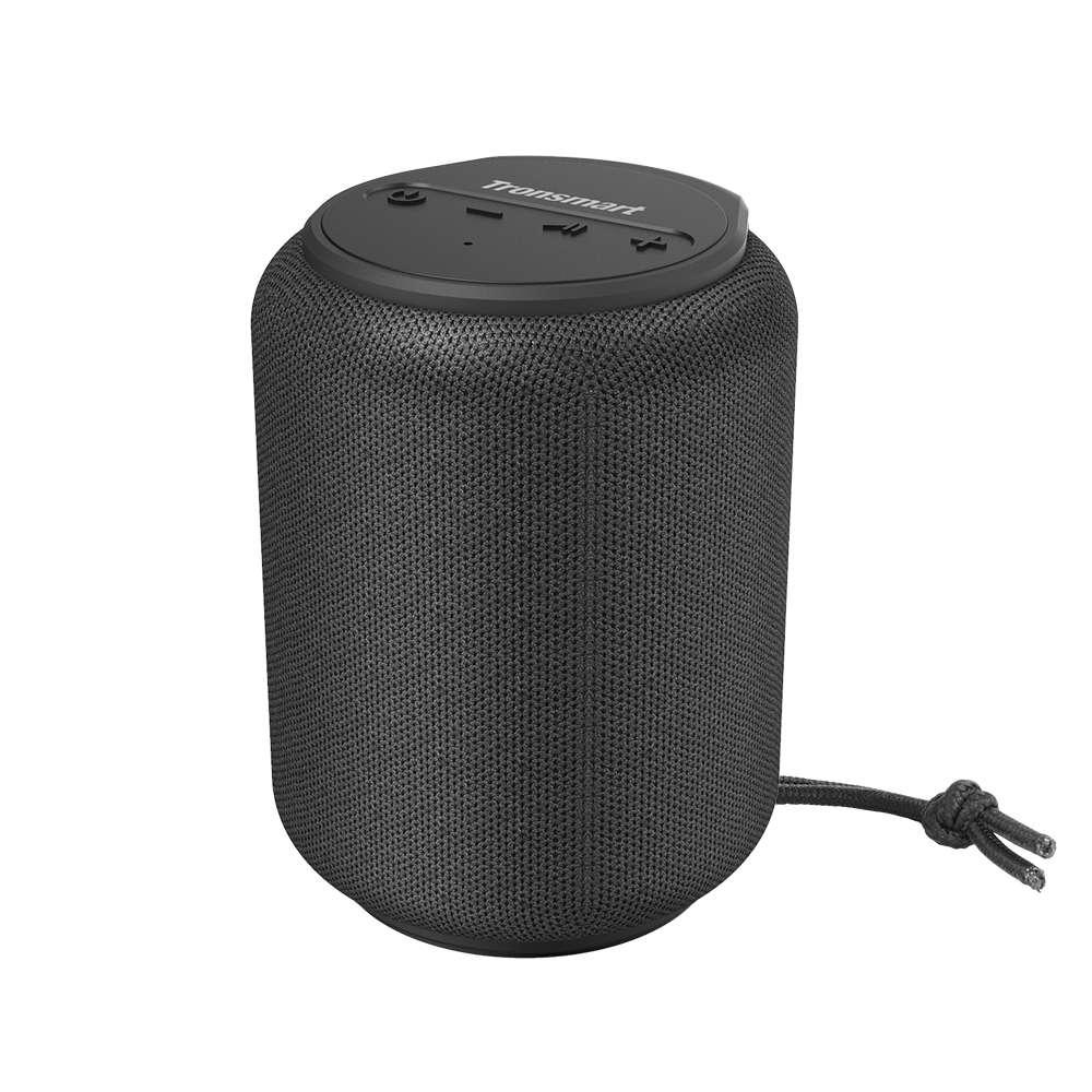 Tronsmart Element T6 Mini 15W Bluetooth 5.0 Speaker 30m Connection Siri Google Assistant IPX6 24H Playtime USB-C - Black