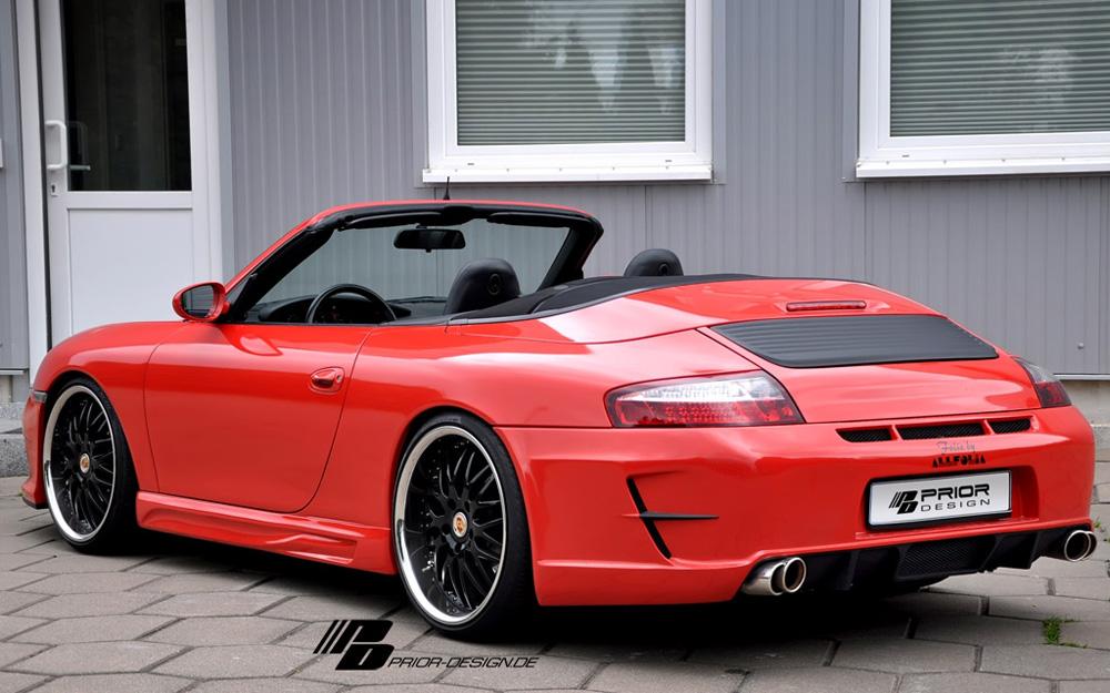 Prior Design 4260609893489 PD1 Rear Bumper Porsche 996 Carrera 98-05