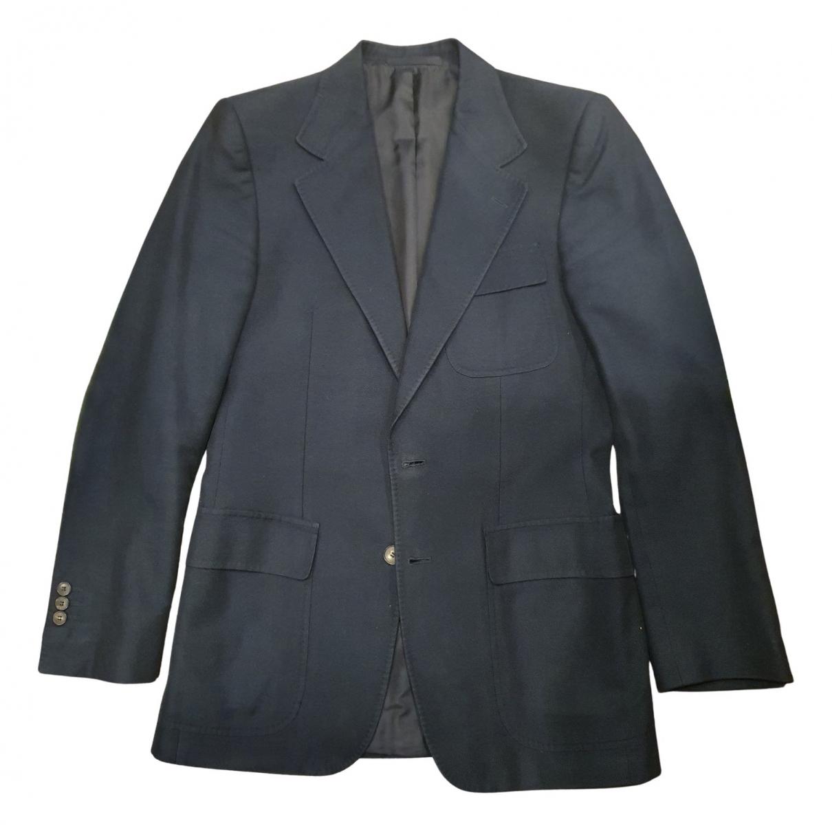 Yves Saint Laurent - Vestes.Blousons   pour homme en coton - bleu