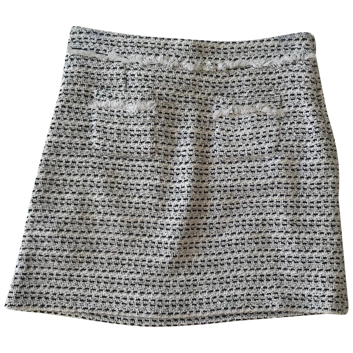 Comptoir Des Cotonniers \N Ecru Cotton skirt for Women 38 FR
