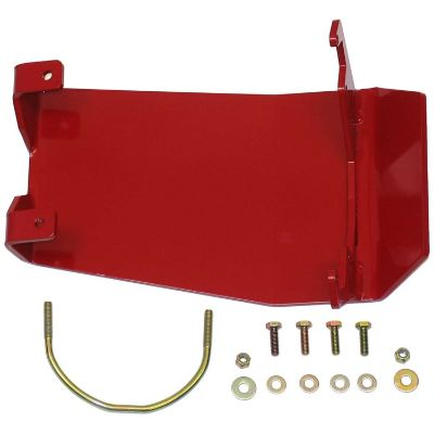Rancho Rear Differential Glide Plate (Red Powdercoat) - RS6242