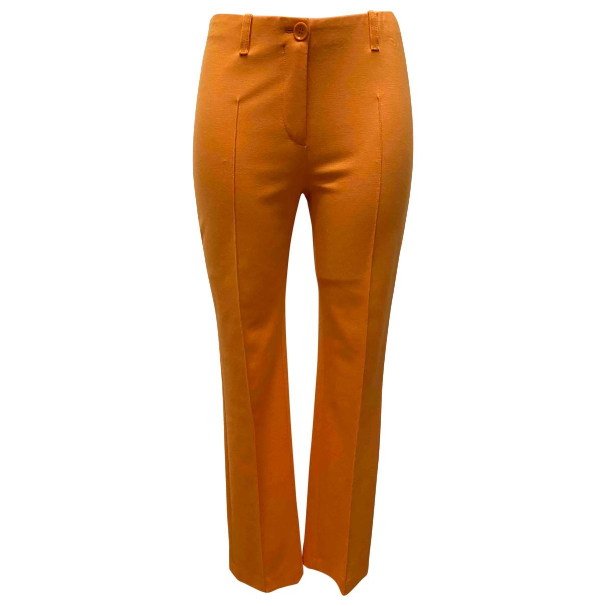 Marc Cain - Pantalon   pour femme - orange