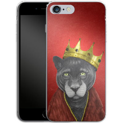 Apple iPhone 6s Plus Silikon Handyhuelle - The King Panther von Barruf