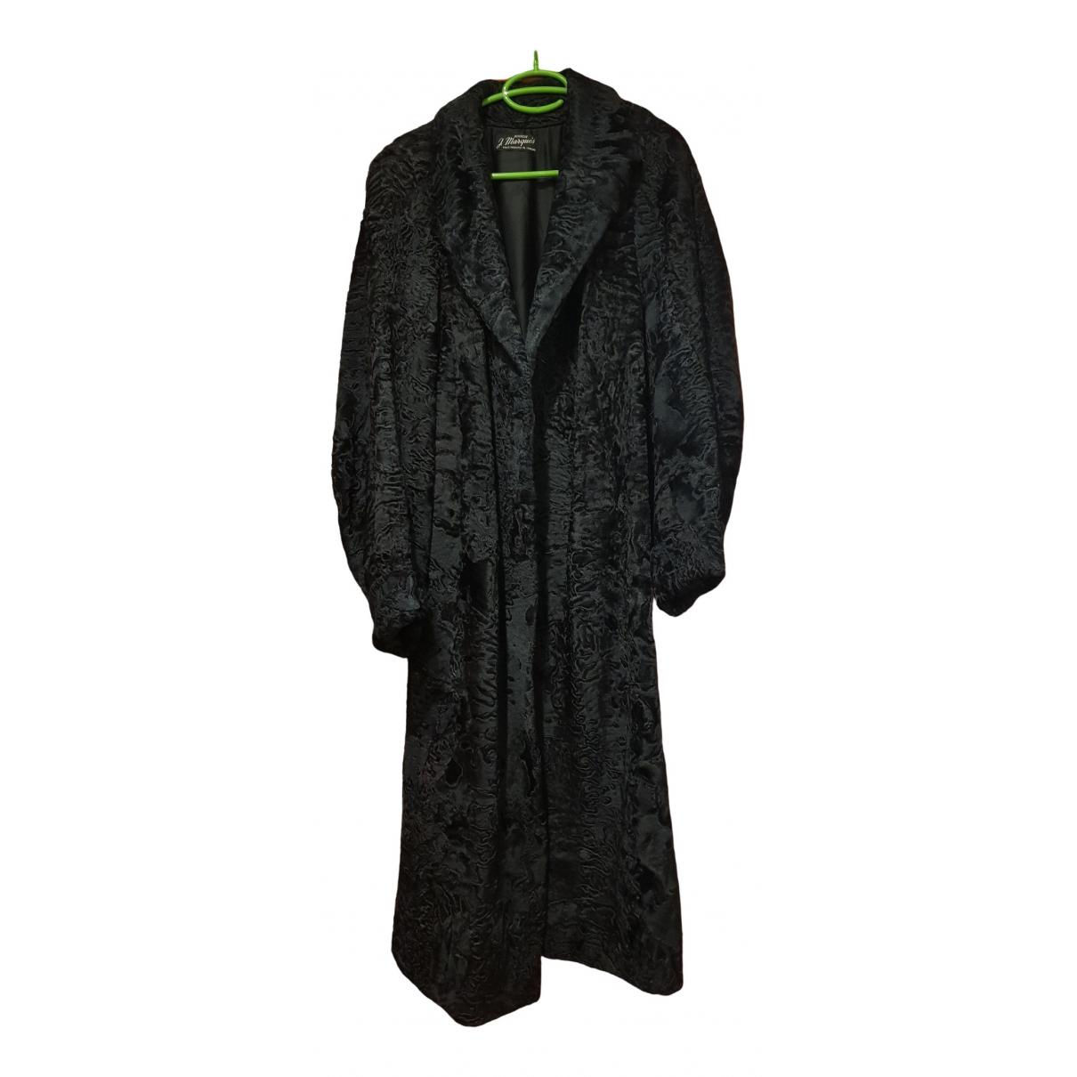 Marques Almeida \N Black Astrakhan coat for Women One Size FR