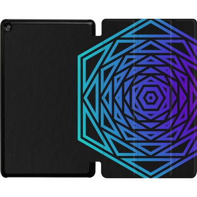 Amazon Fire HD 8 (2017) Tablet Smart Case - HEXAGON von Berlin Techno Collective