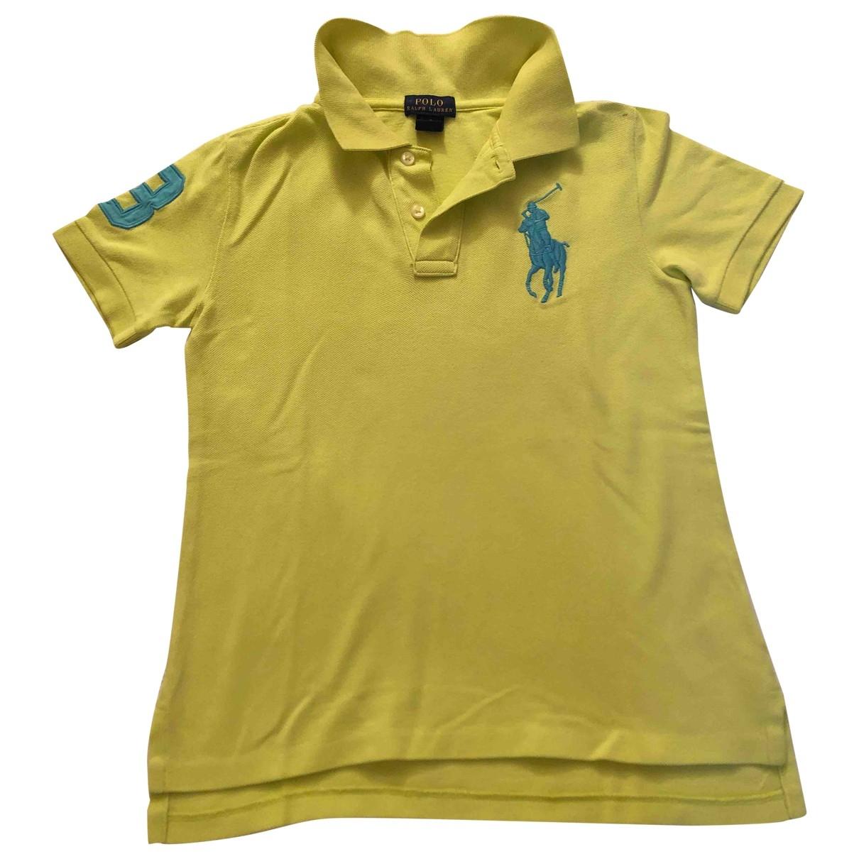 Ralph Lauren \N Oberteile in  Gelb Baumwolle