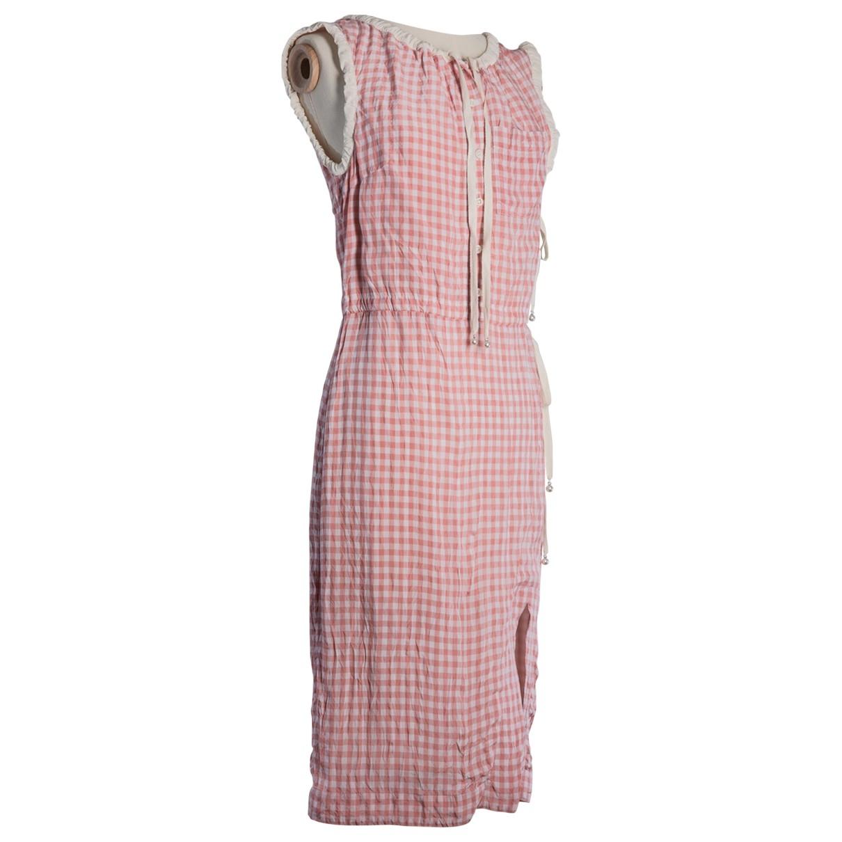 Altuzarra \N Kleid in  Rosa Viskose