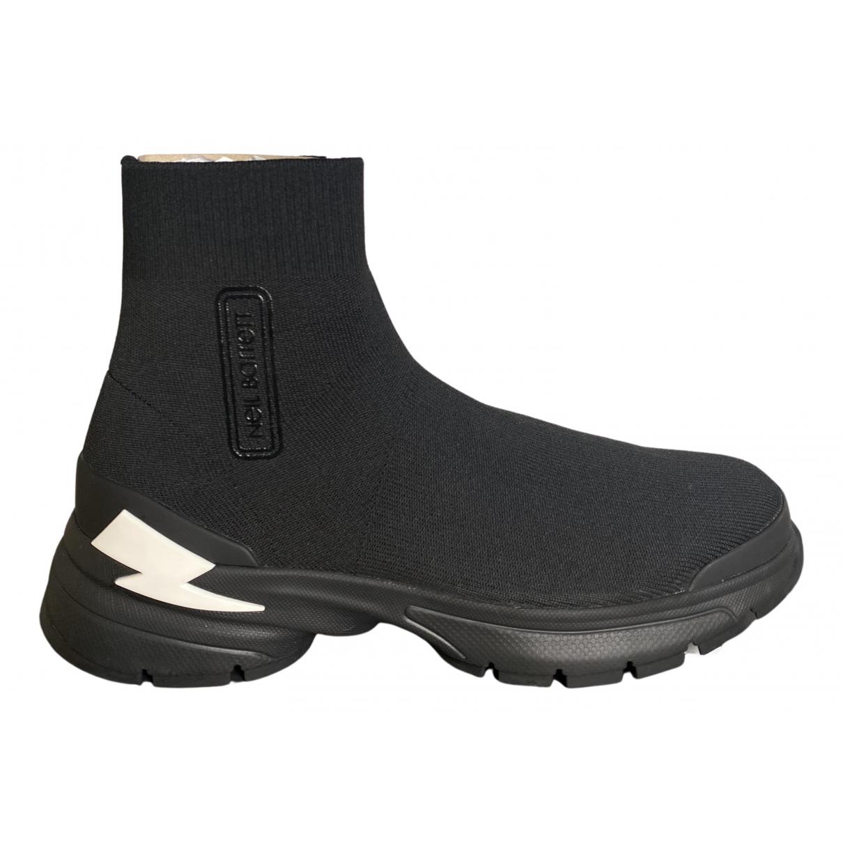 Neil Barrett \N Sneakers in  Schwarz Polyester