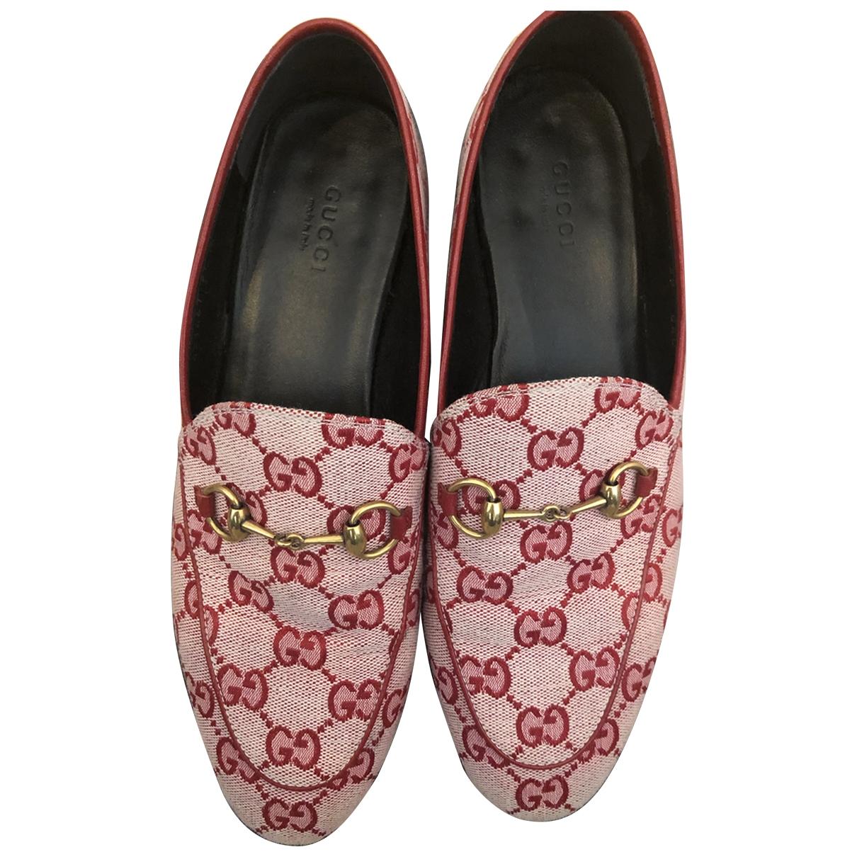 Gucci Jordaan Pink Flats for Women 39 EU