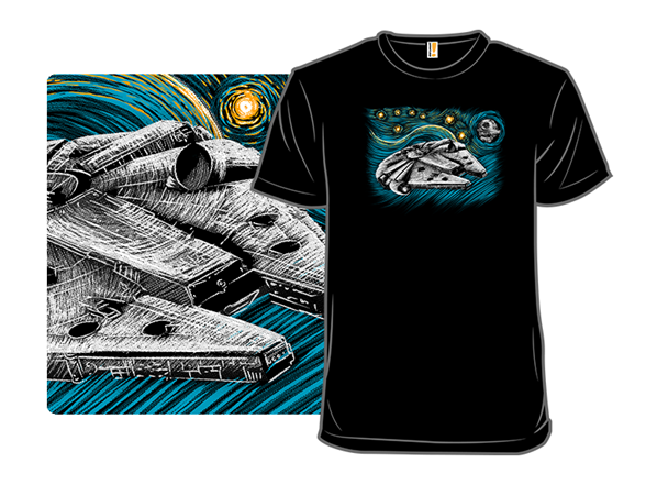 Starry Falcon T Shirt