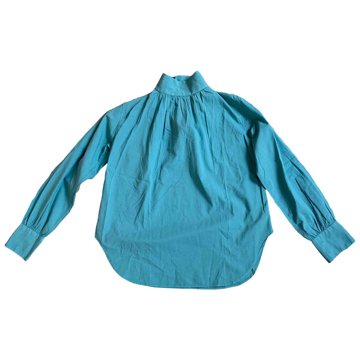 Officine Generale - Top   pour femme en coton - vert