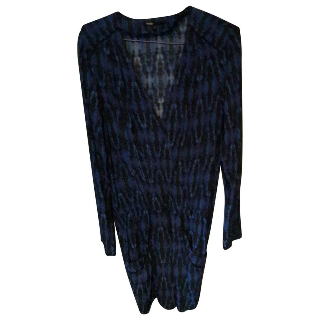 Maje \N Kleid in  Blau Viskose