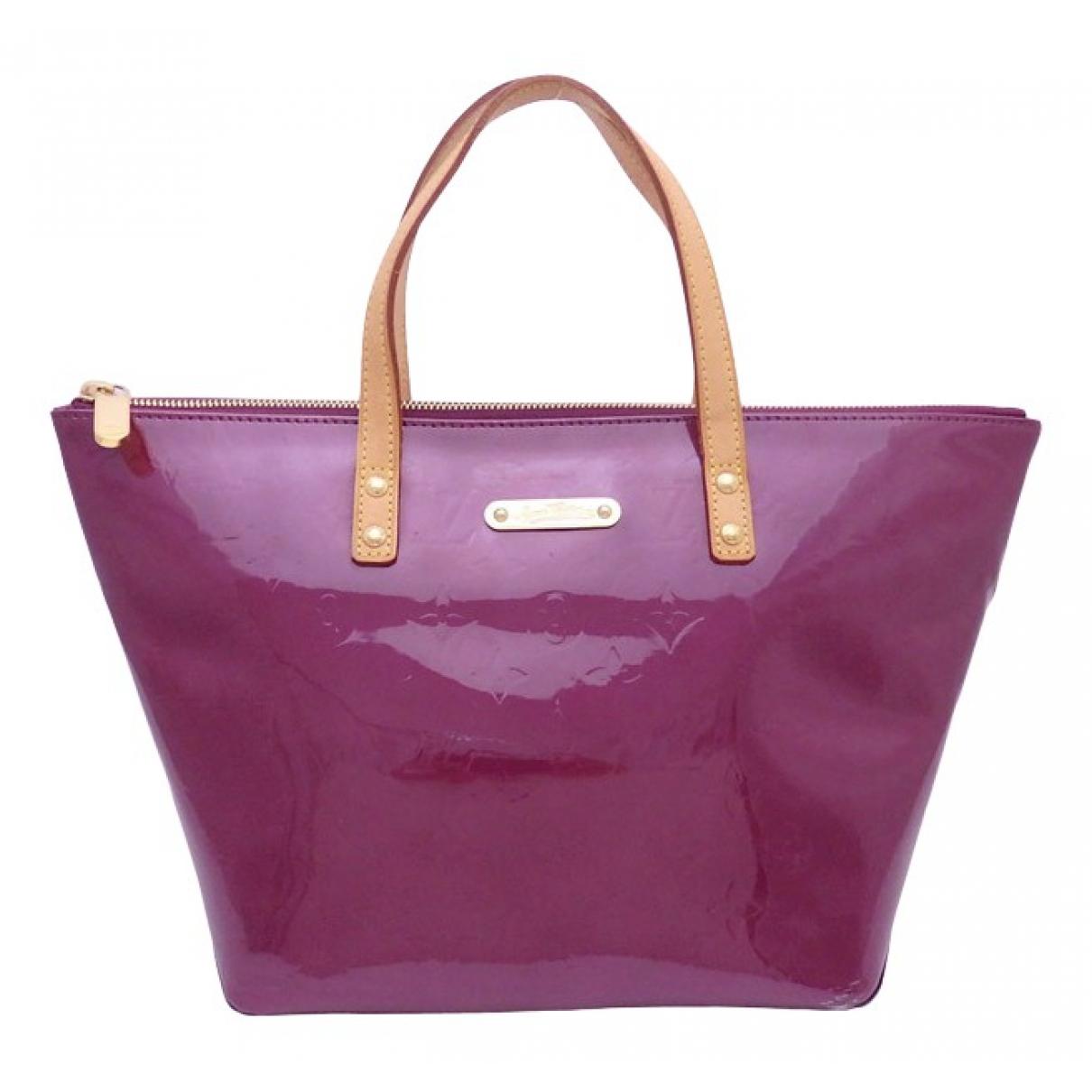 Louis Vuitton \N Purple Patent leather handbag for Women \N