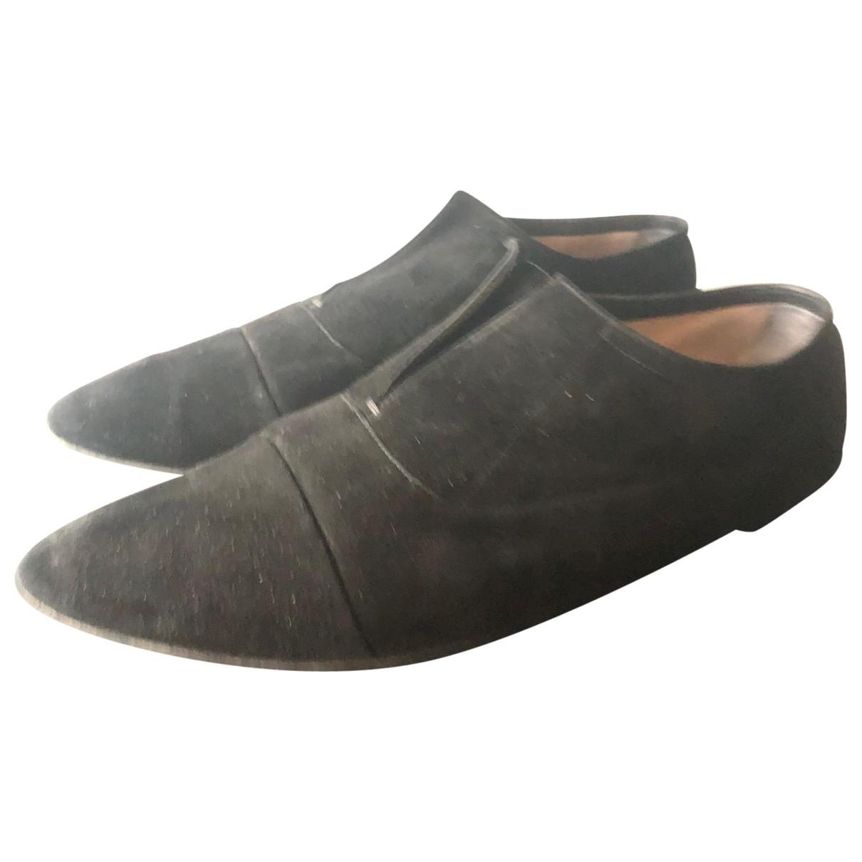 Calvin Klein Collection \N Black Suede Flats for Women 41 EU