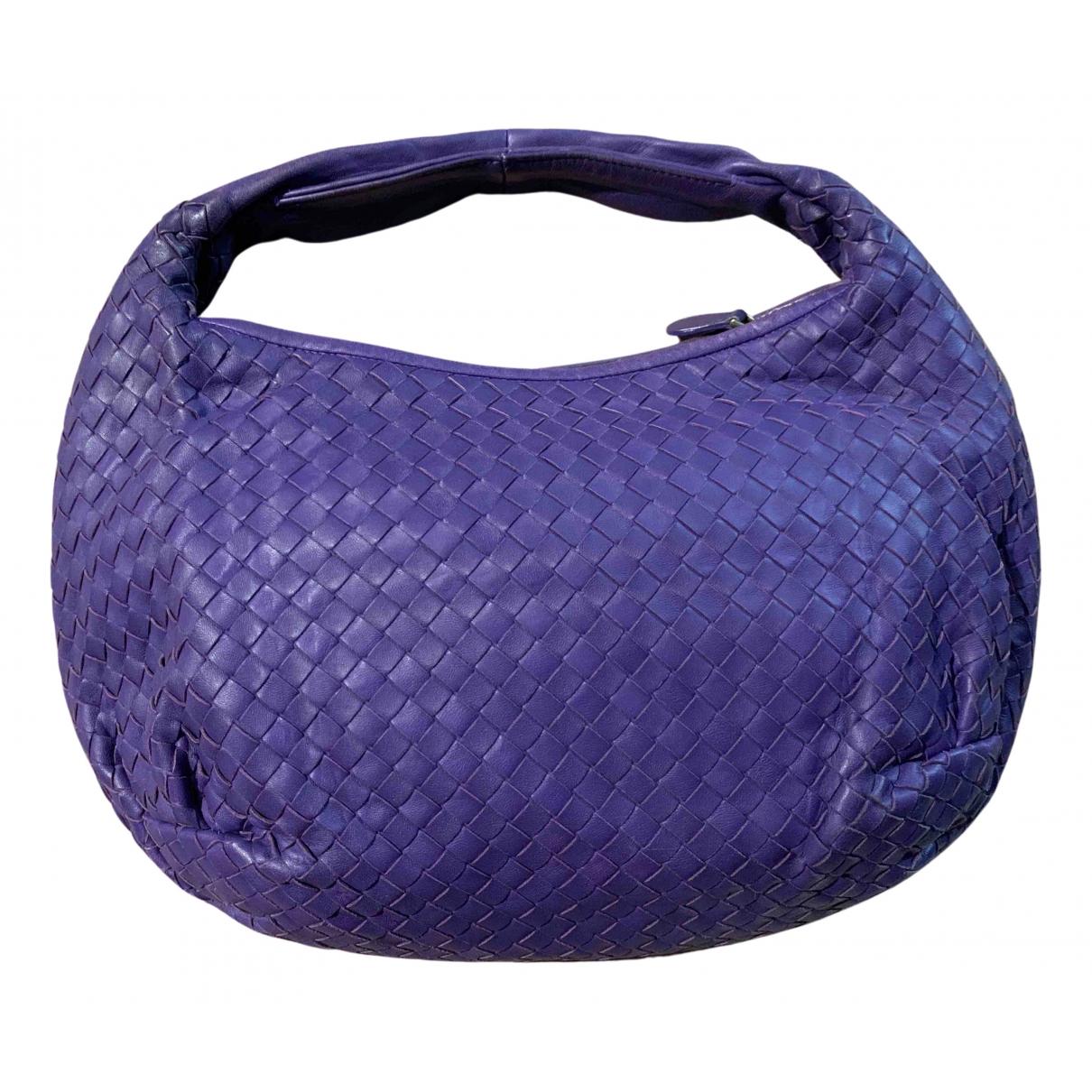 Bottega Veneta - Sac a main Veneta pour femme en cuir - violet