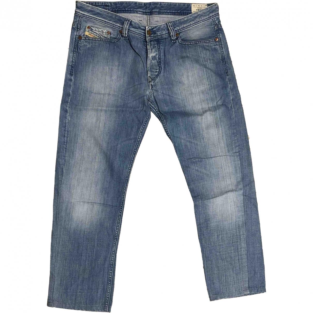 Diesel \N Blue Denim - Jeans Trousers for Men 54 IT