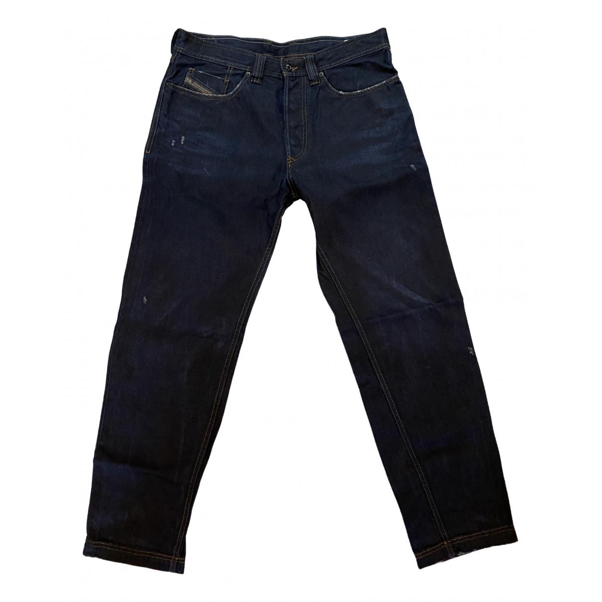 Diesel Black Gold - Jean   pour homme en coton - bleu