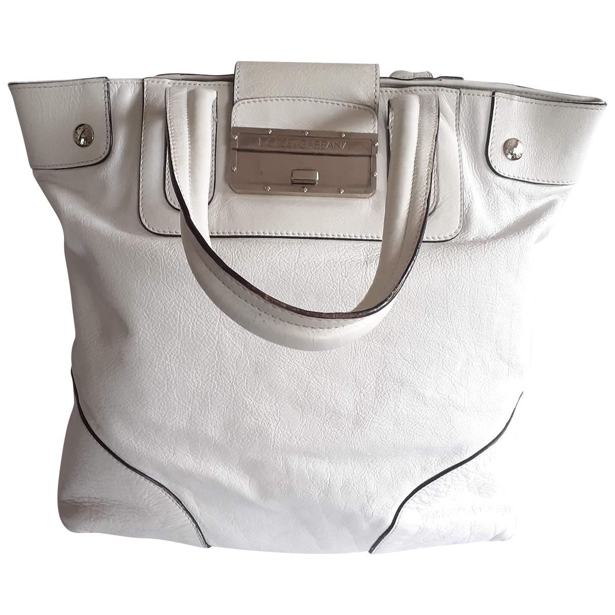 Dolce & Gabbana \N White Leather handbag for Women \N