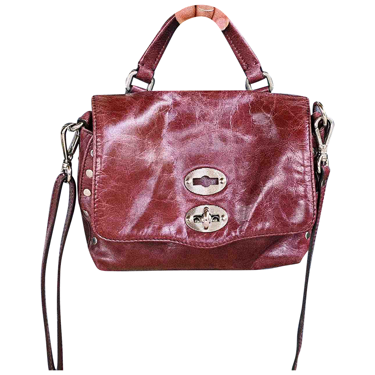 Zanellato N Burgundy Leather handbag for Women N