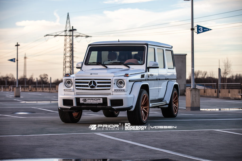 Prior Design 4260609892680 PD Front Wide Fenders Mercedes-Benz G-Class W463 05-18
