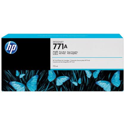 HP 771A B6Y21A cartouche d'encre originale noire photo