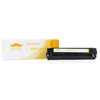 Canon 116Y 1977B001AA cartouche de toner remanufacturé jaune - Moustache®