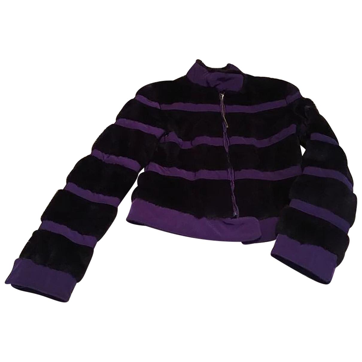 Fendi - Veste   pour femme en lapin - violet