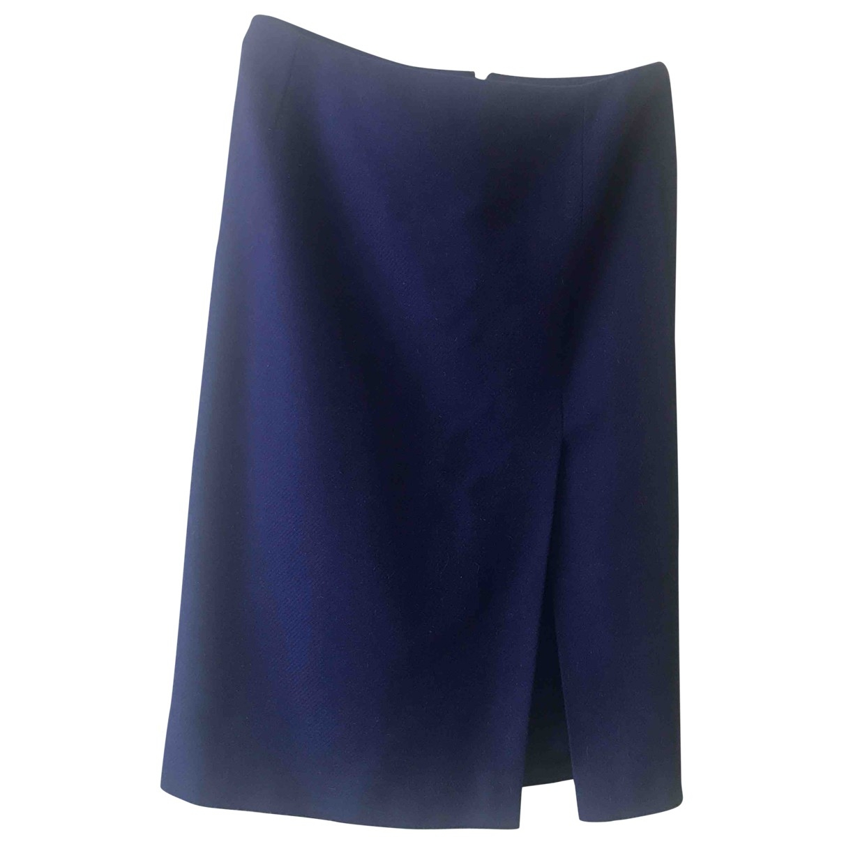 Gianni Versace \N Rocke in  Blau Wolle