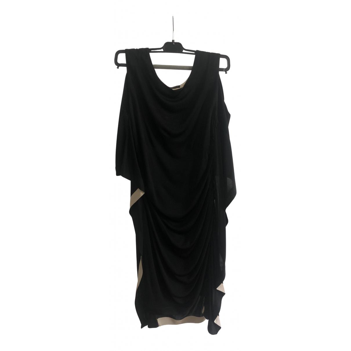 Vionnet - Robe   pour femme en soie - noir