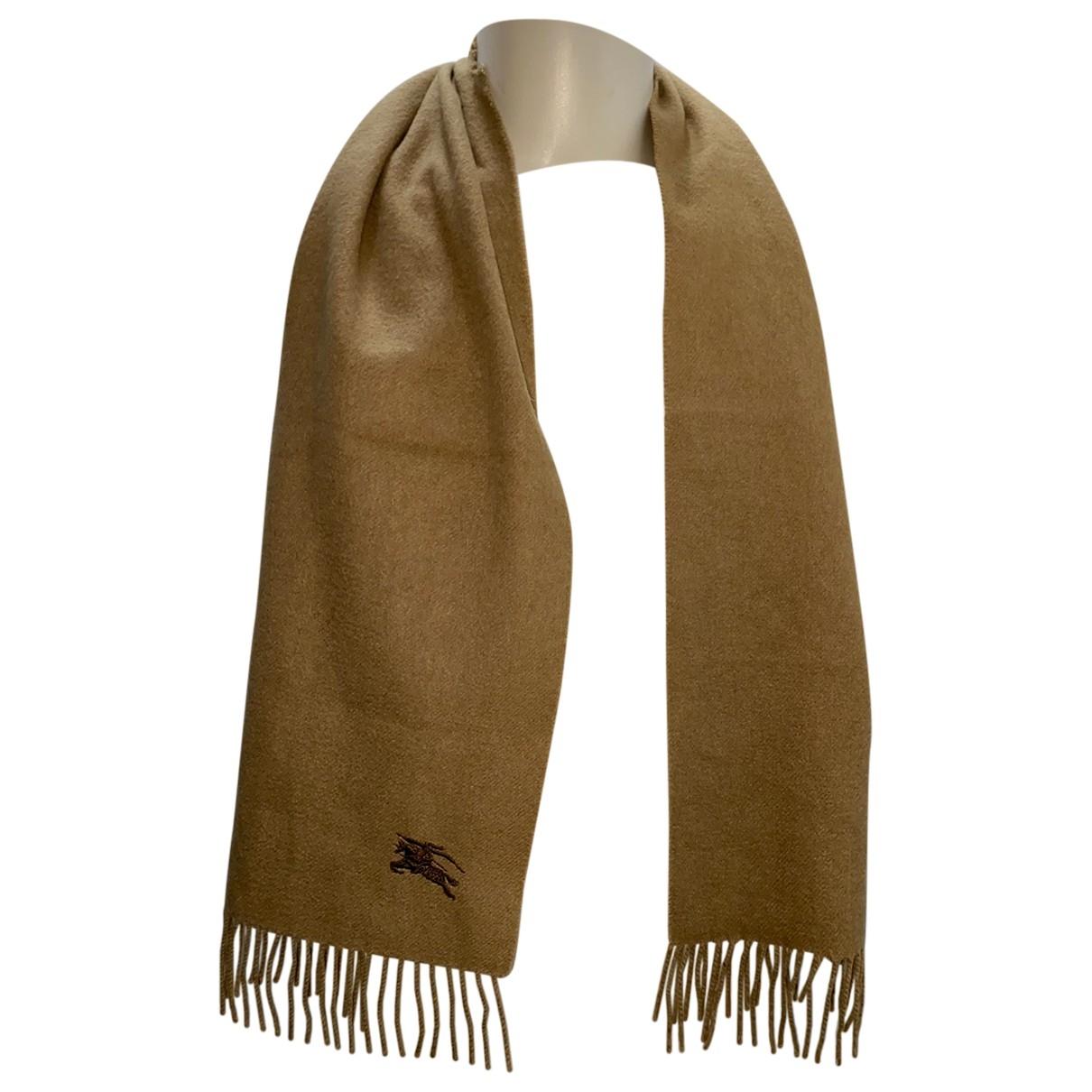 Burberry N Camel Cashmere scarf & pocket squares for Men N