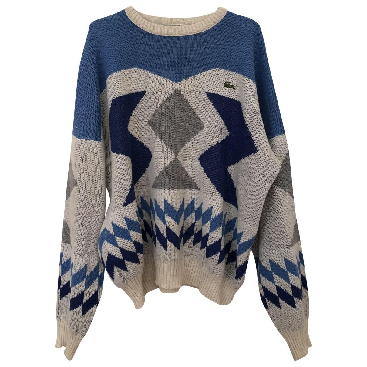Lacoste - Pulls.Gilets.Sweats   pour homme en laine - multicolore