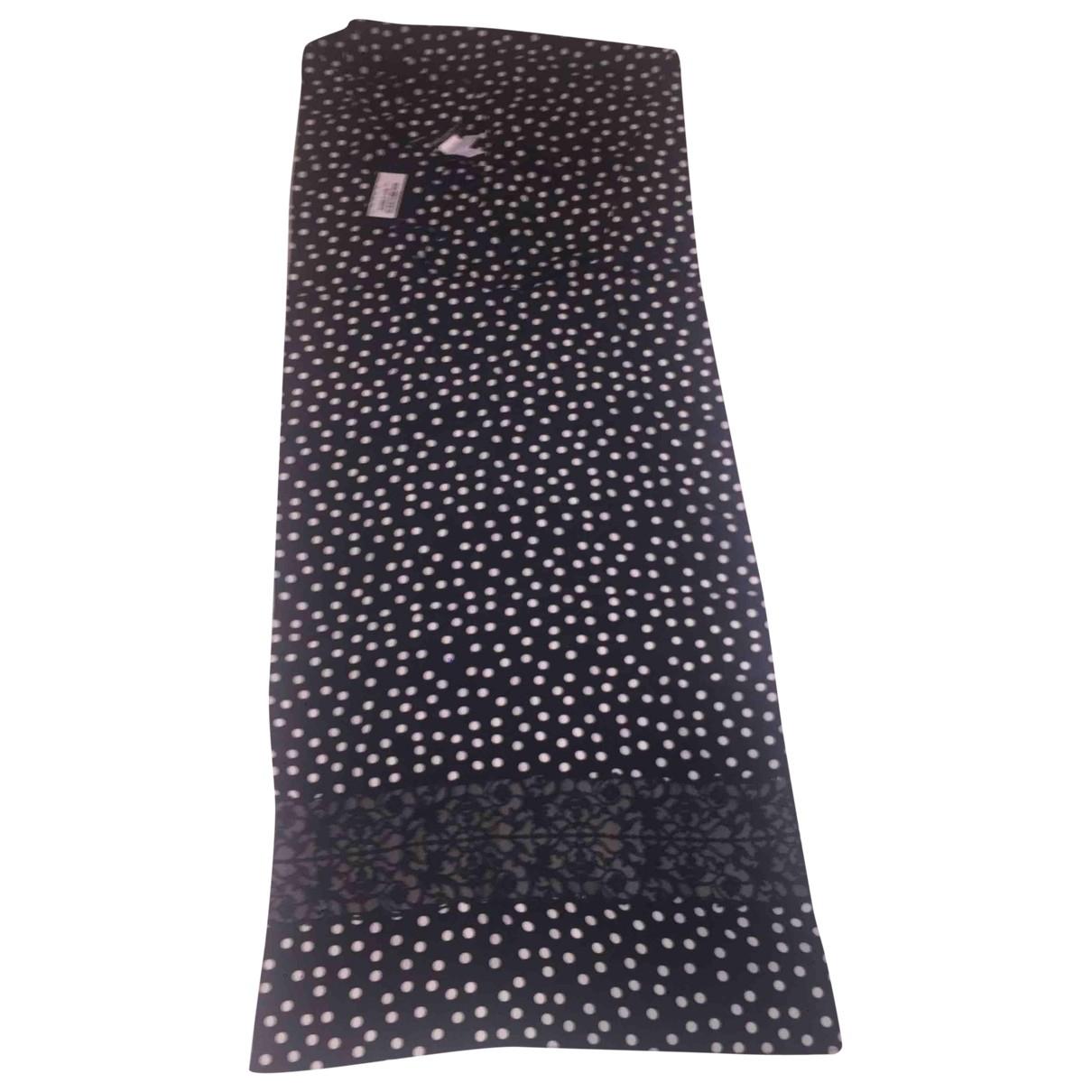 Dolce & Gabbana - Foulard   pour femme en soie - noir