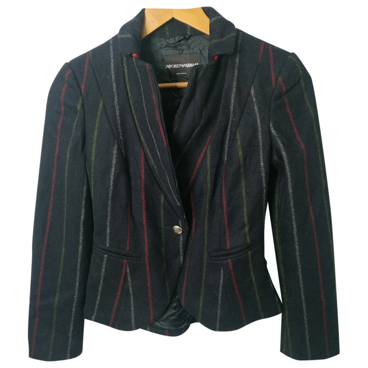 Emporio Armani \N Jacke in  Bunt Wolle
