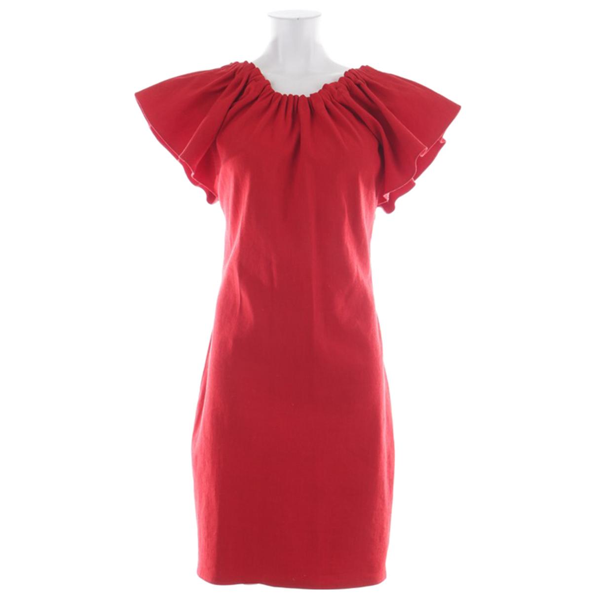 Vestido de Lino Lanvin