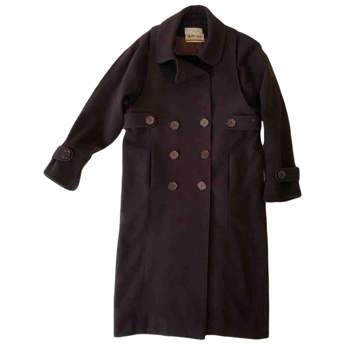 Karl Lagerfeld N Brown Wool coat for Women 40 FR