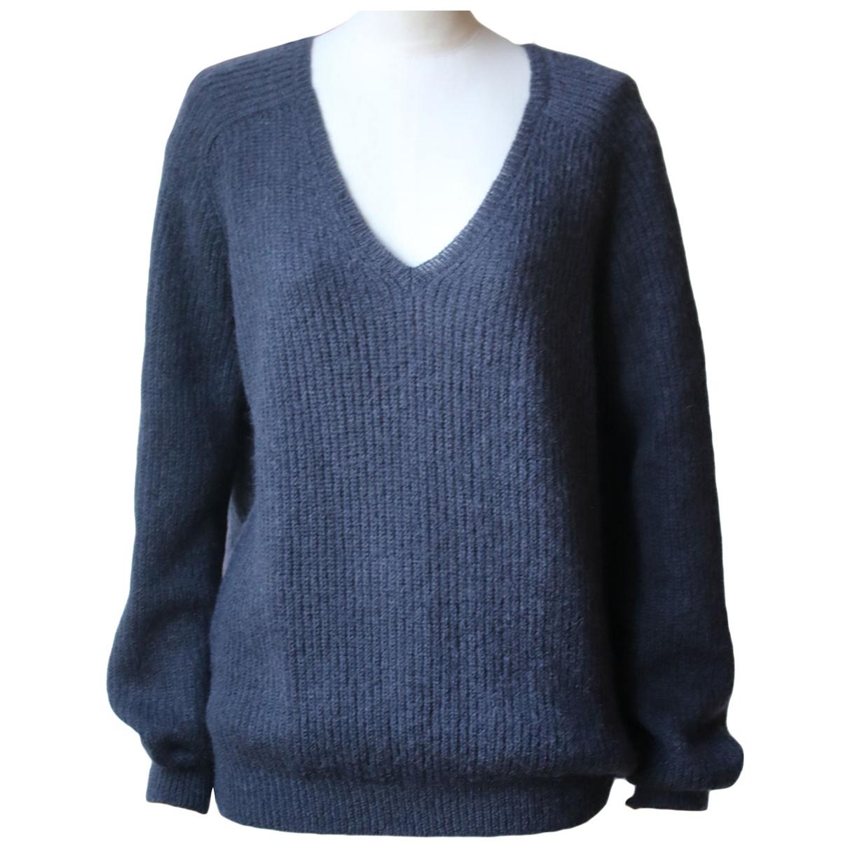 Nina Ricci - Pull   pour femme en laine - marine
