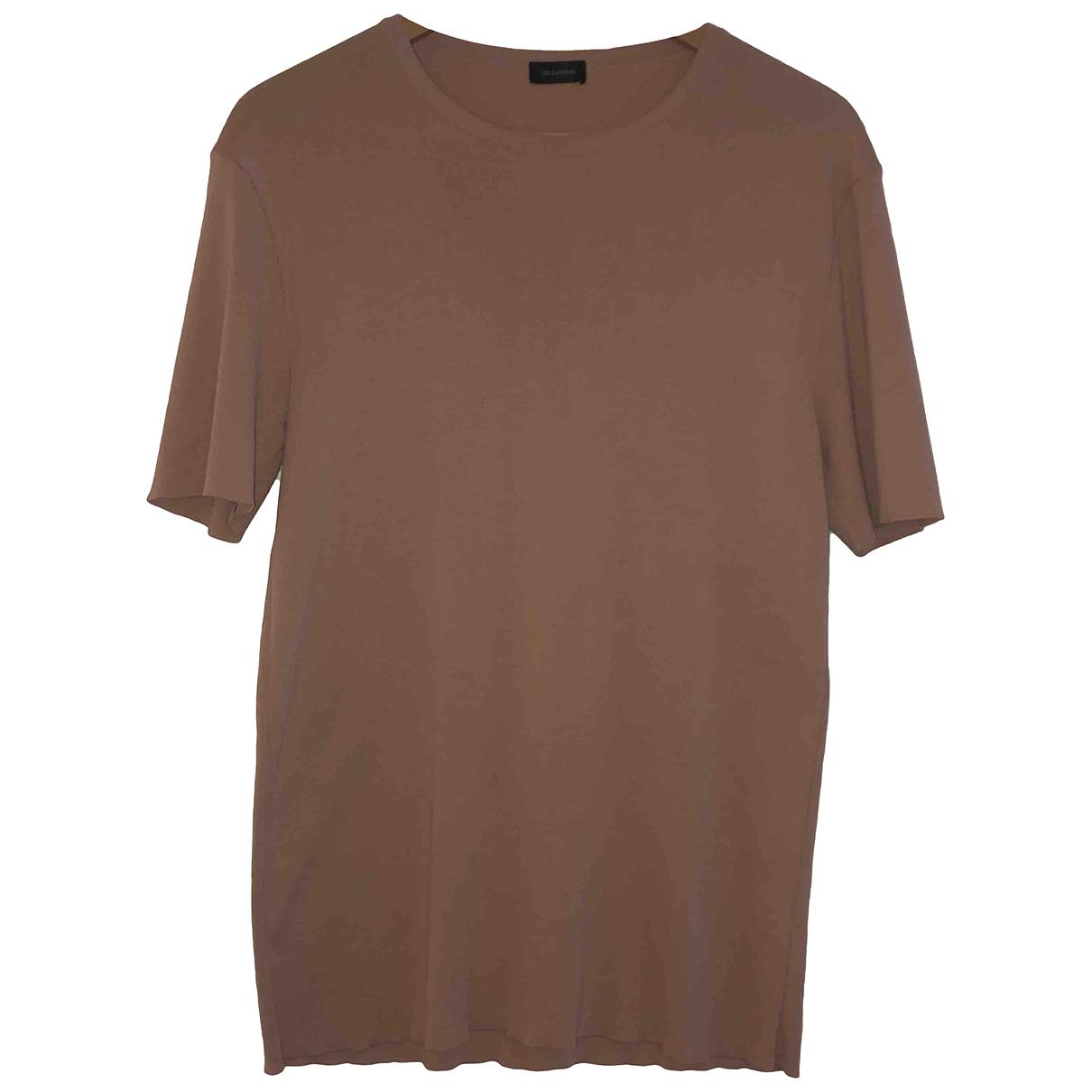 Jil Sander - Tee shirts   pour homme en coton - rose