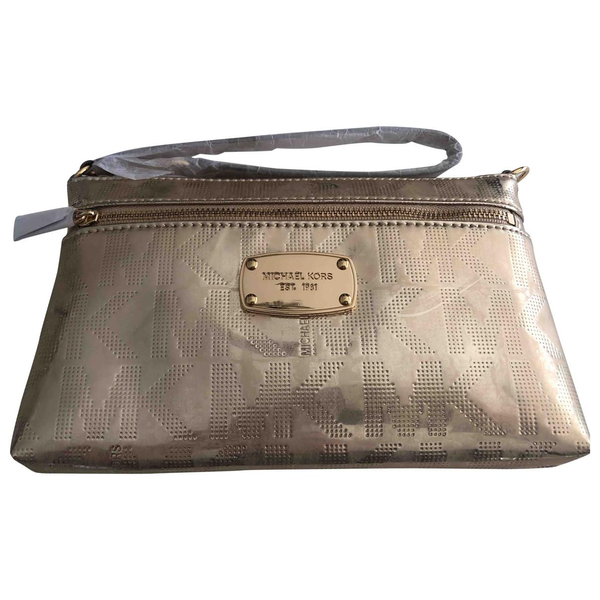Michael Kors \N Gold Leather Travel bag for Women \N