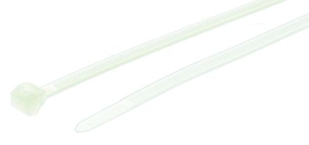 HellermannTyton , T50ROS Series Natural Nylon Cable Tie, 200mm x 4.6 mm