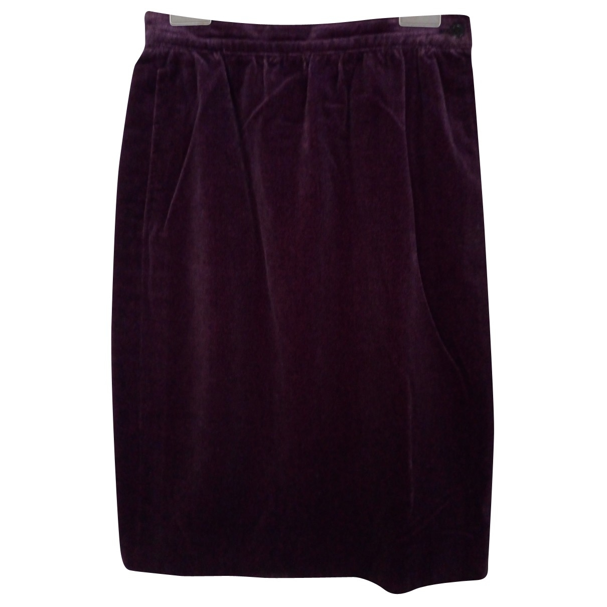 Ungaro Parallele \N Purple Velvet skirt for Women 38 IT